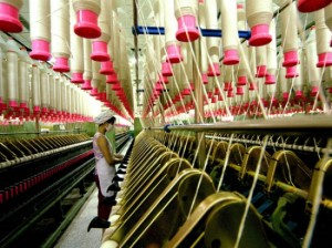 Las exportaciones textiles de Argentina caen.